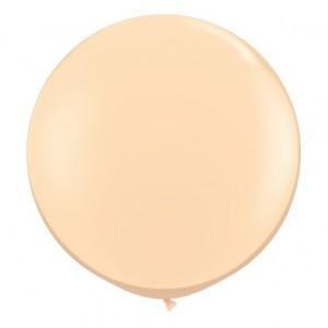 Giant 3ft Round Balloon BLUSH - 2Pk