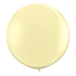 Giant 3ft Round Balloon IVORY - 2Pk