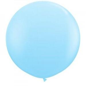 Giant 3ft Round Balloon PALE BLUE - 2Pk