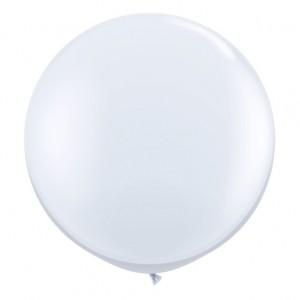 Giant 3ft Round Balloon CLEAR - 2Pk