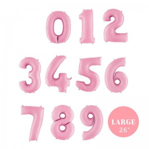 Pastel Pink Number Bunch in a Box!