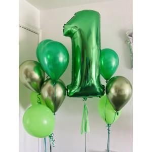 Giant Number Green Foil