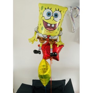 Sponge Bob Balloon Bunch in a Box