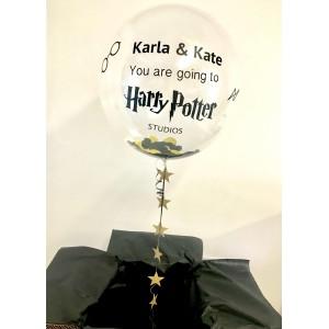 Harry Potter Studios Bubble Balloon in a Box!