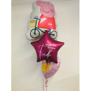 Peppa Pig Balloon Bunch in a Box