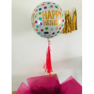 Happy Birthday Orbz Balloon in a Box!