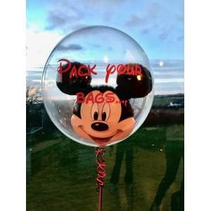 Disney 'Mickey Mouse' Bubble Balloon in a Box!