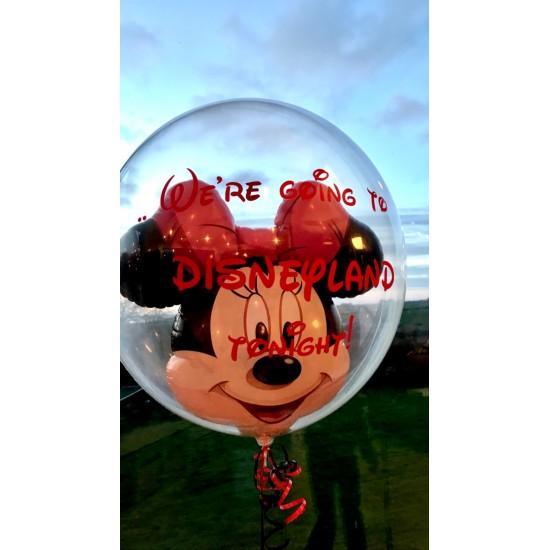 Disney 'Minnie Mouse' Bubble Balloon in a Box!