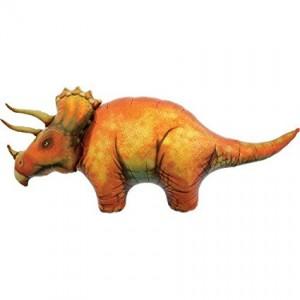 "Dinosaur 50"" Triceratops Foil Balloon"