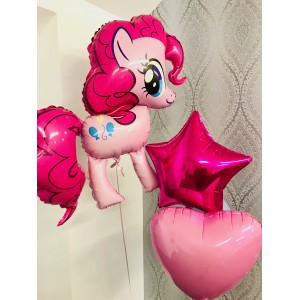 "My Little Pony Foil 39"" Foil Balloon Bunch in a Box!"