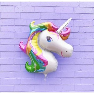 Unicorn Head Foil
