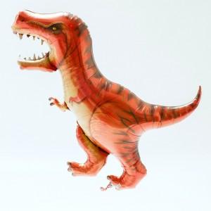 "Foil Balloon - T-Rex Dinosaur 47"""