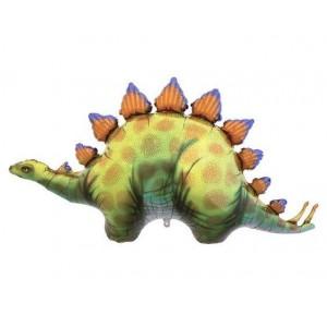 """Dinosaur Stegosaurus 46"""" Foil Balloon"""