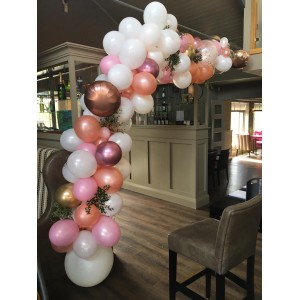'Rose Gold Blush' DIY Balloon Garland Kit