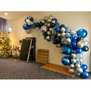 'Glitzy Blue' DIY Balloon Garland Kit