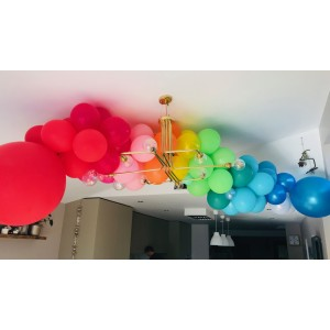 'Over The Rainbow' DIY Balloon Garland Kit