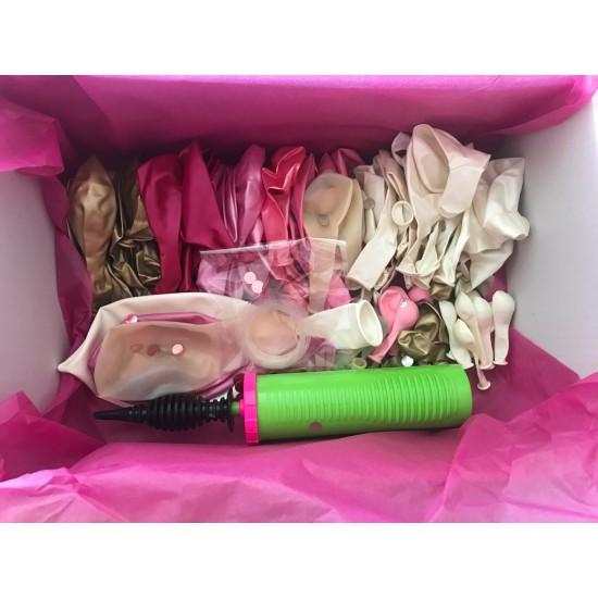 'Pinks & Gold' DIY Balloon Garland Kit