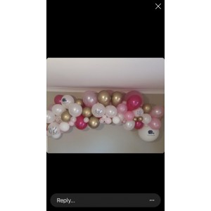 'Pinks & Gold' DIY Balloon Garland Kit