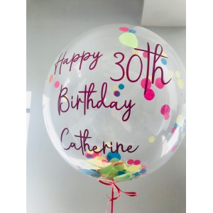 "20"" Personalised Bubble Balloon"
