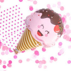 Foil Balloon - Ice Cream Mini Foil 14""