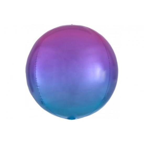 Custom Blue & Purple Ombré Orbz Balloon