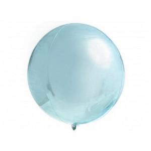 Custom Pastel Blue Orbz Foil Balloon in a Box