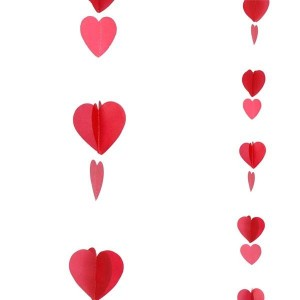 Balloon Tails - Red Hearts