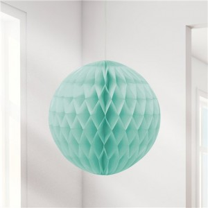 Honeycomb Ball - Mint Green 20cm