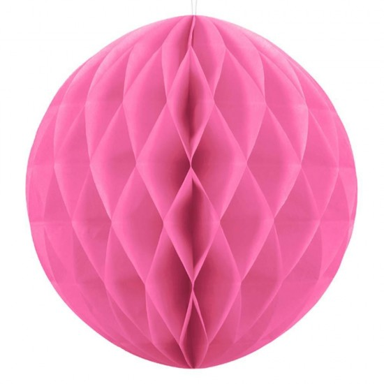Honeycomb Ball - Bright Pink 20cm