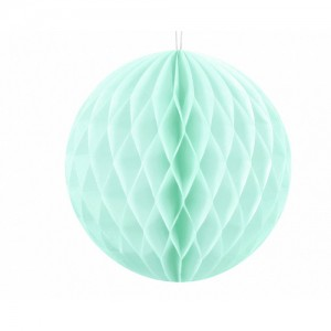 Honeycomb Ball - Mint Green 20cm