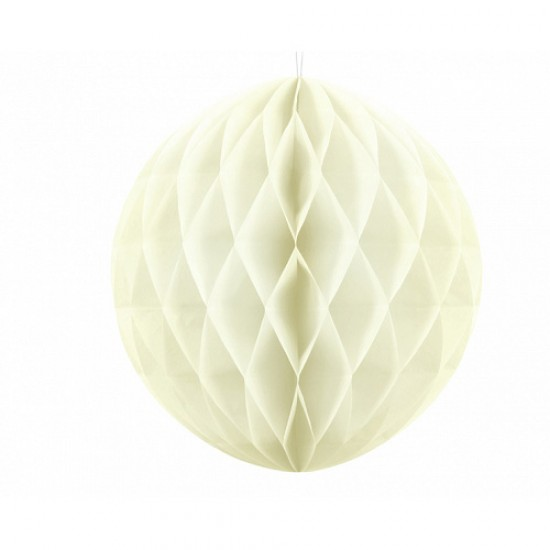 Honeycomb Ball - Cream 20cm
