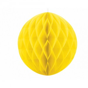Honeycomb Ball - Yellow 20cm