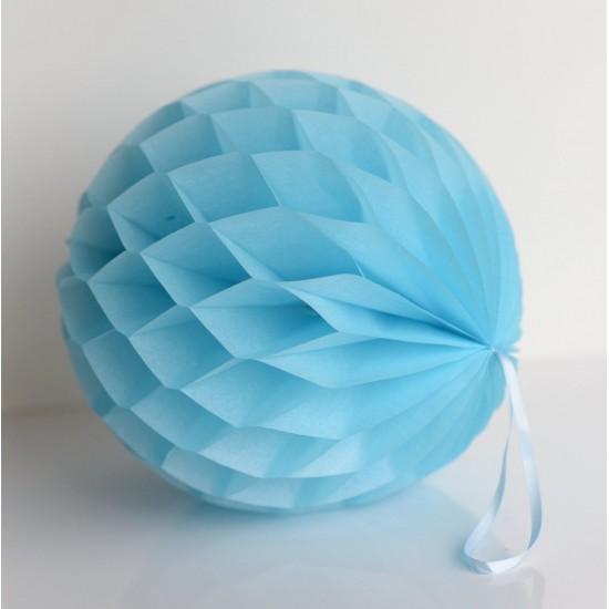 Honeycomb Ball - Sky Blue 20cm