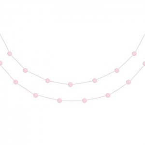 Pom Pom Garland - Baby Pink