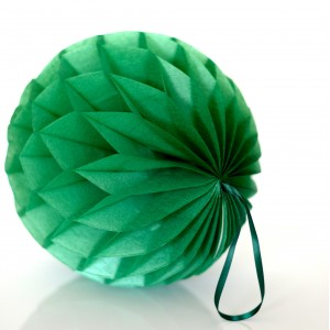 Honeycomb Ball - Emerald Green - Mini 10cm