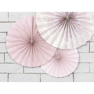 Trio Paper Fan - Floral Peonies