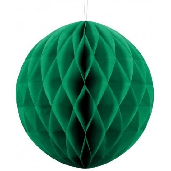 Honeycomb Ball - Emerald Green - Mini 10cm