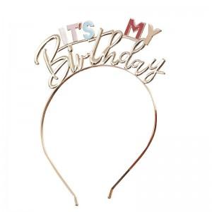 It's My Birthday - Metal Headband