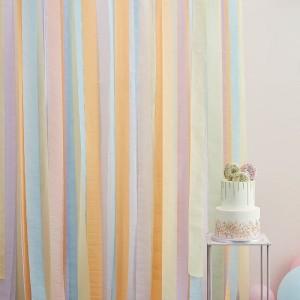 Streamers Decoration - Pastels