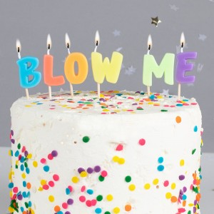 Blow Me Candles