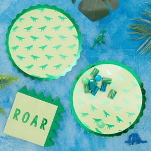 Dinosaur Paper Party Plates