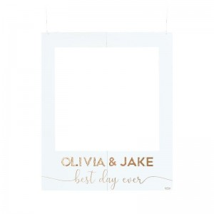 Personalised Wedding Photo Booth Frame
