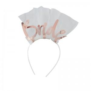 Bride To Be Veil Headband