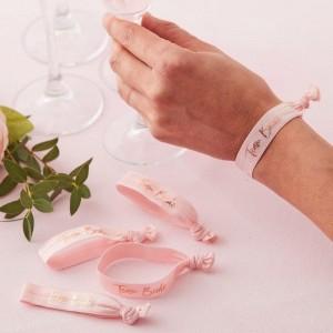 Hen Party  'Team Bride' Wristbands 5pk