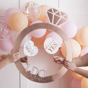Hen Party - Rose Gold Photo Booth Ring