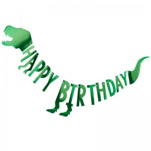 Dinosaur Happy Birthday Bunting