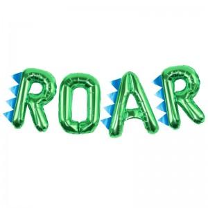 Dinosaur 'ROAR' Balloon Bunting