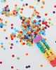 Confetti Cannon Rainbow Biodegradable