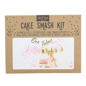 Cake Smash Kit - Pink First Birthday