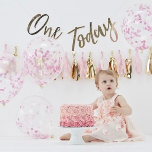 Cake Smash Kit - Pink First Birthday